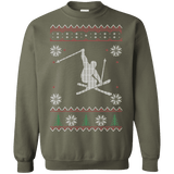 Skiing Ugly Christmas Sweater sweatshirt
