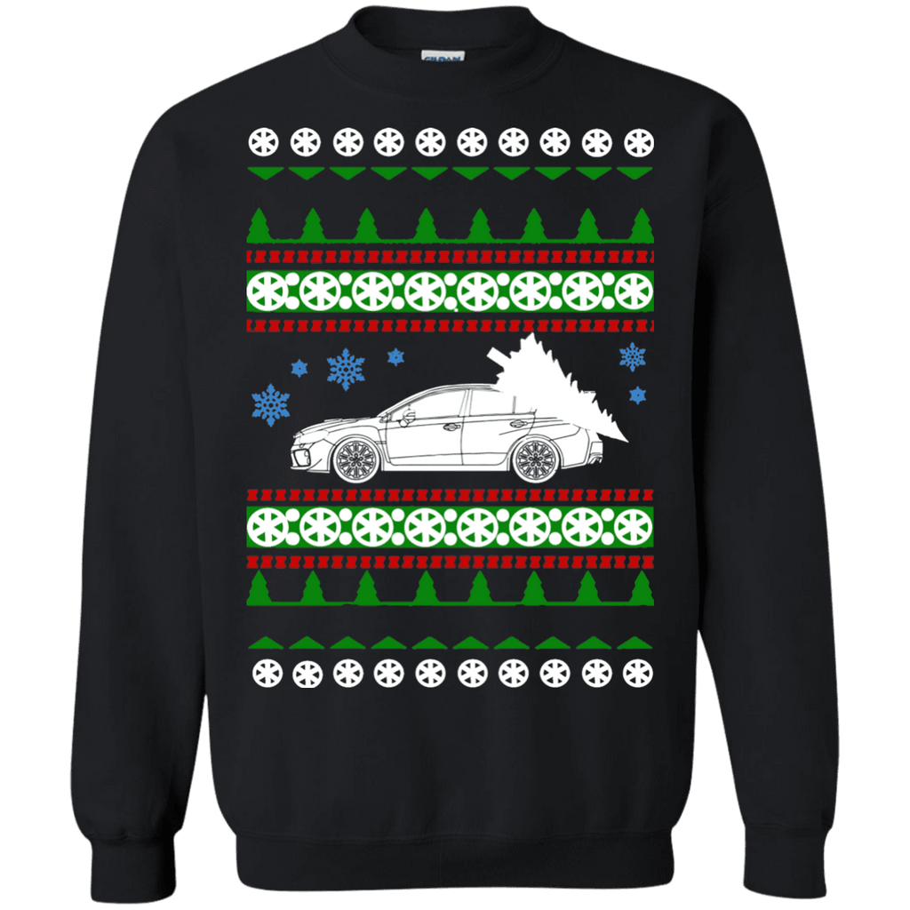 Subaru 2017 WRX STI sedan Ugly Christmas Sweater sweatshirt