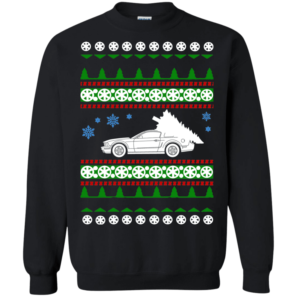 Ford Mustang GT 5th gen ugly Christmas Sweater sweatshirt