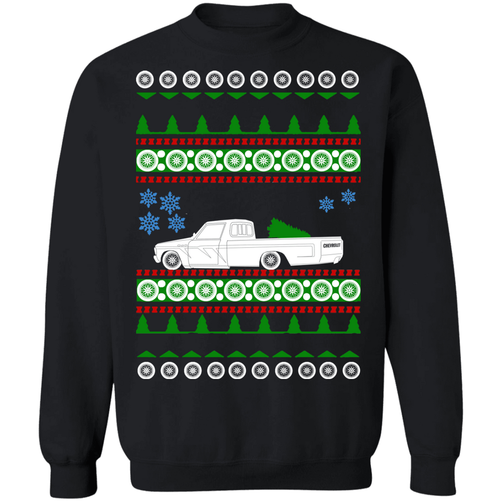 Pick up Truck Chevy LUV 1979 Ugly Christmas Sweater sweatshirt