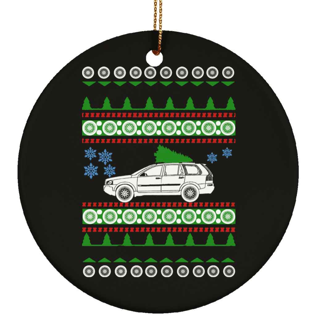 Volvo 2007 XC90 Ugly Christmas Sweater Ornament