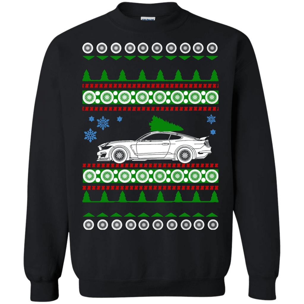 Ford Mustang Shelby GT350R Ugly Christmas Sweater 6th gen
