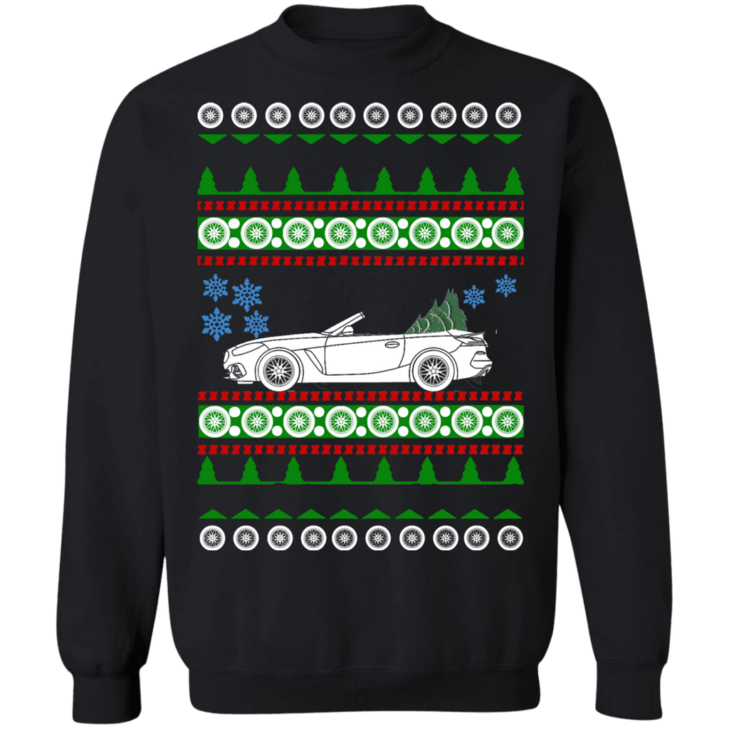 German Car BMW Z4 2019 Ugly Christmas Sweater Sweatshirt