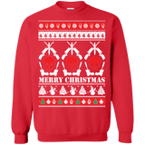 Guns and Skulls Ugly Christmas Sweater sweatshirt