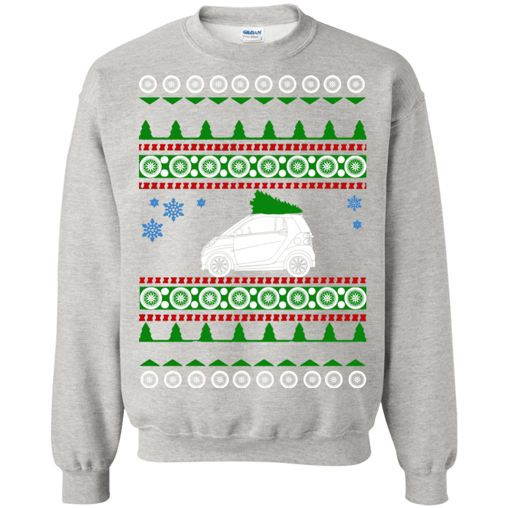 Smart Car Ugly Christmas Sweater