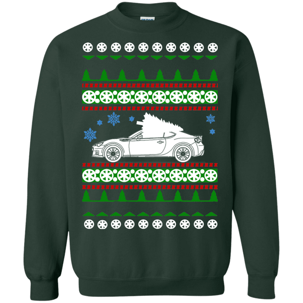 subaru brz ugly christmas sweater shirt