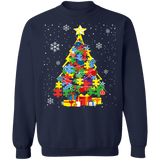 Autism Christmas Tree Holiday Sweater sweatshirt