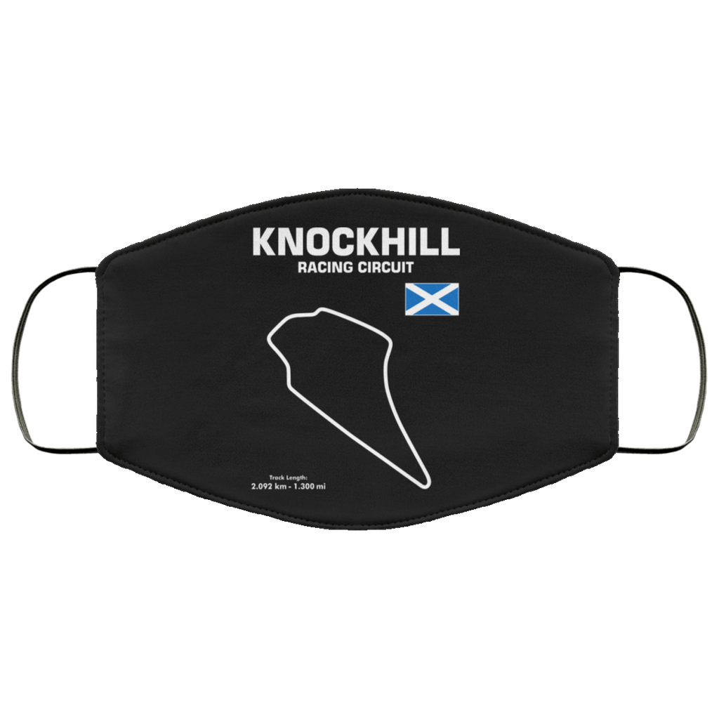 Knockhill racing circuit face mask non-medical