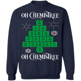 Chemistry Oh Chemistree Ugly Christmas Sweater sweatshirt