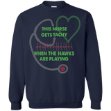 Nurse Seahawks Ugly Christmas Sweater Tachy! sweatshirt