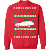 Chevy Caprice Classic Wagon Ugly Christmas Sweater 1968