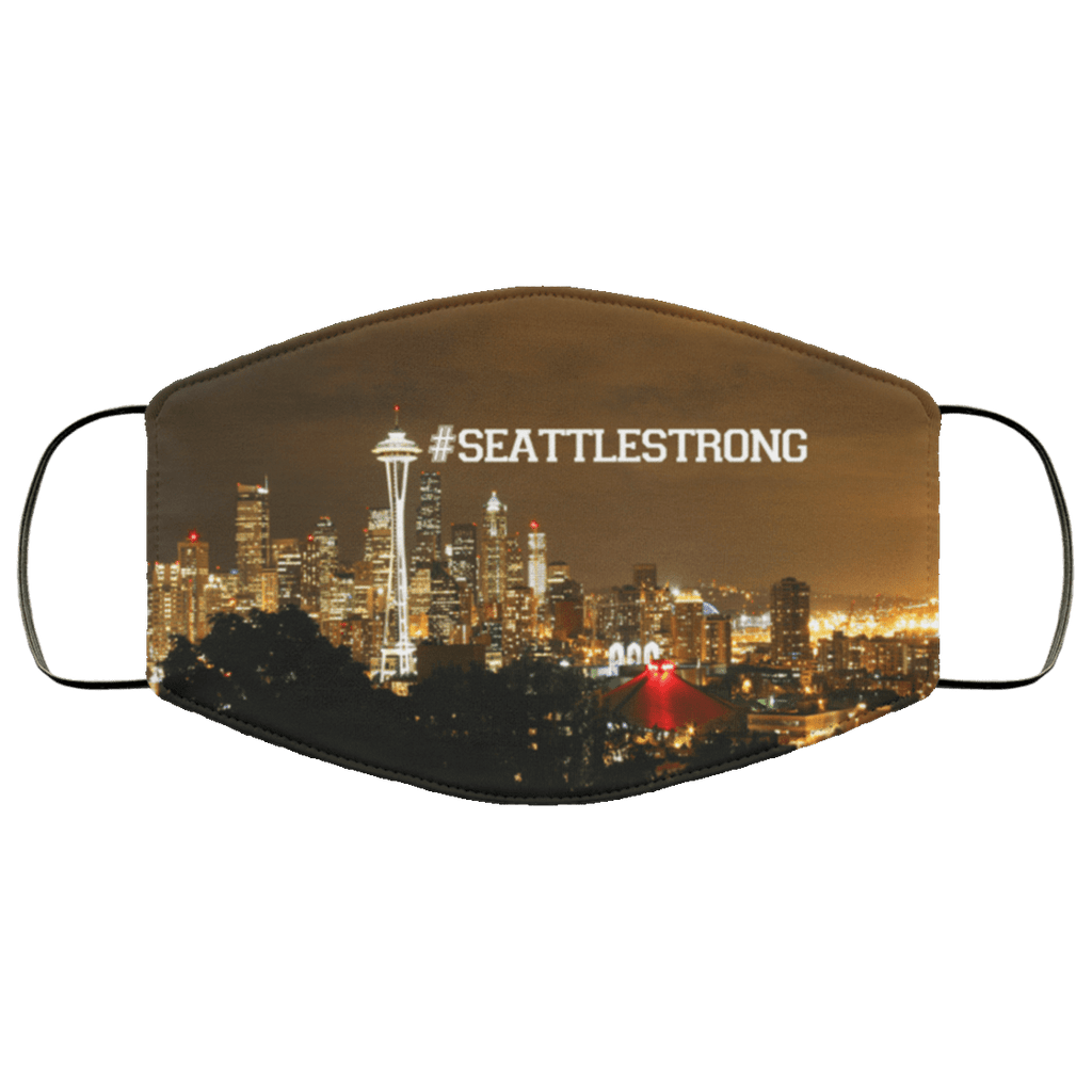 Seattle Strong #seattlestrong Face Mask