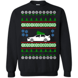 Lancer Evo X green tree Ugly Christmas Sweater new sweatshirt