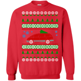 Toyota Previa Red 1991 Ugly Christmas Sweater