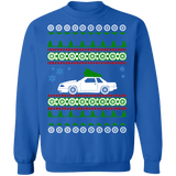 Ford Mustang 1988 Notchback Ugly Christmas Sweater Sweatshirt sweatshirt