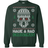 X-ray Technician Skull RAD Ugly Christmas Sweater sweatshirt