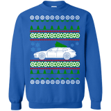 German Car Panamera Sport Turismo Porsche Ugly Christmas Sweater