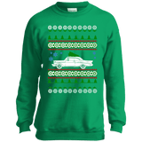 Chevy Belaire 1957 Youth Ugly Christmas Sweater