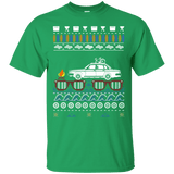 "Volvo 240 Ugly Summer ""Christmas"" shirt with white car"
