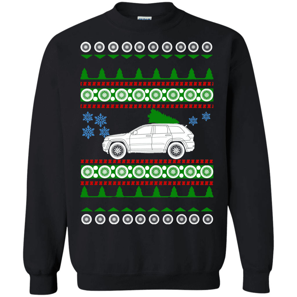 Jeep Grand Cherokee Overland 2018 Ugly Christmas Sweater sweatshirt