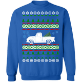 Truck 1954 Ford F100 F150 Ugly Christmas Sweater Sweatshirt
