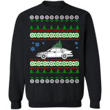 Saab 9-5 Sedan first generation ugly christmas sweater sweatshirt sweatshirt