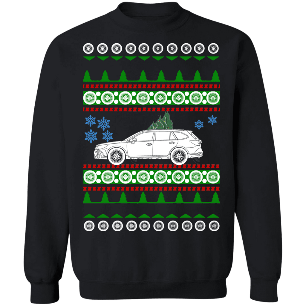 JDM car wagon like Outback Subaru 2020 Ugly Christmas Sweater Sweatshirt
