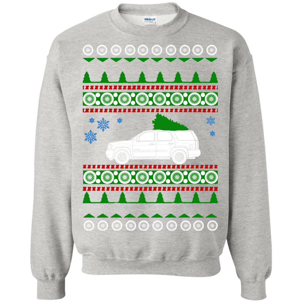Chevy Tahoe Ugly Christmas Sweater