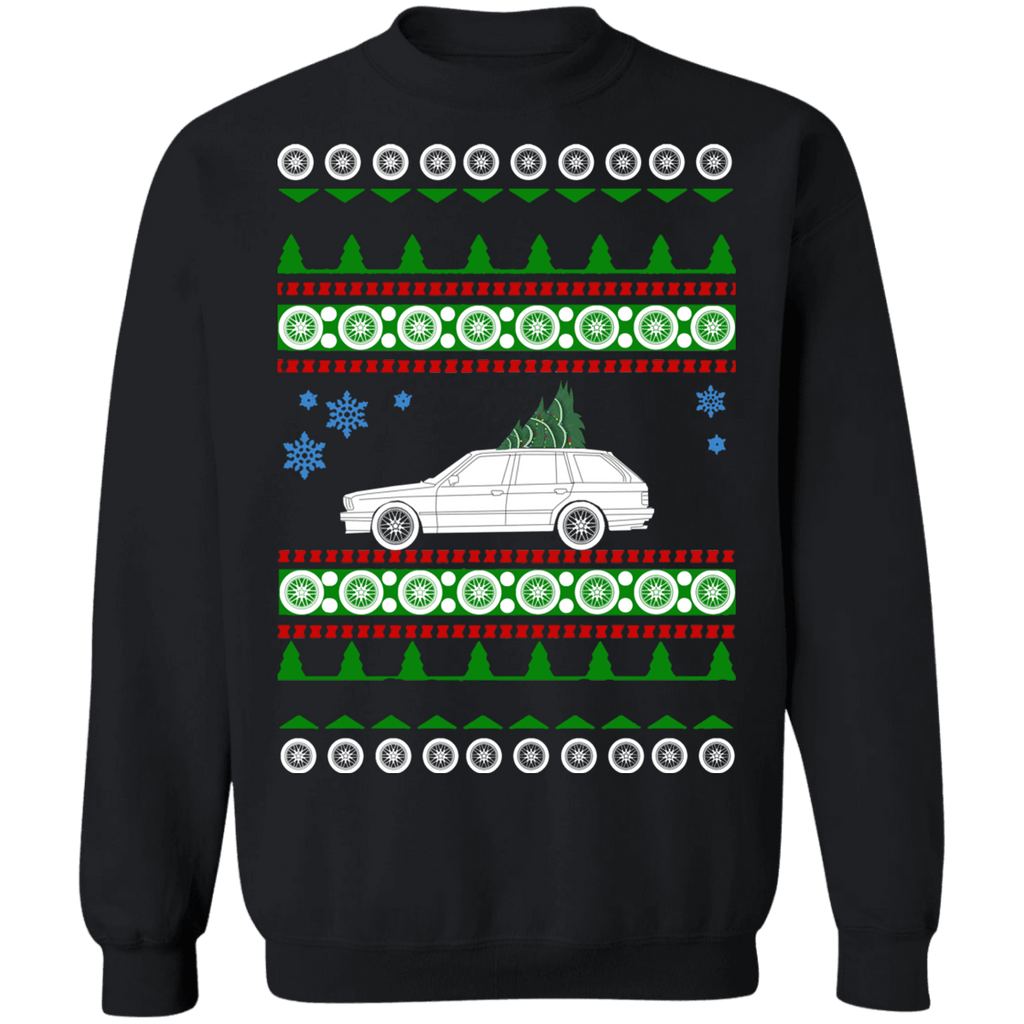 German Car E30 Touring 3 series Wagon ugly Christmas Sweater Sweatshirt sweatshirt