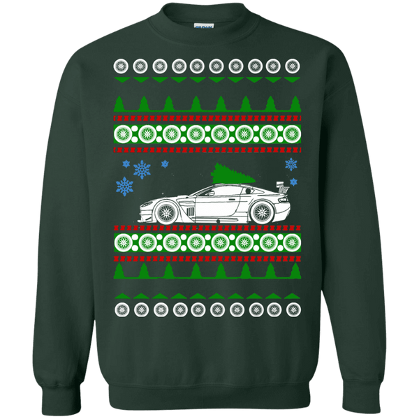 aston martin vantage ugly christmas sweater shirt
