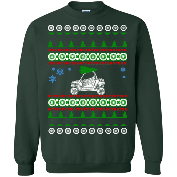 Polaris RZR ugly christmas sweater atv offroad dunes