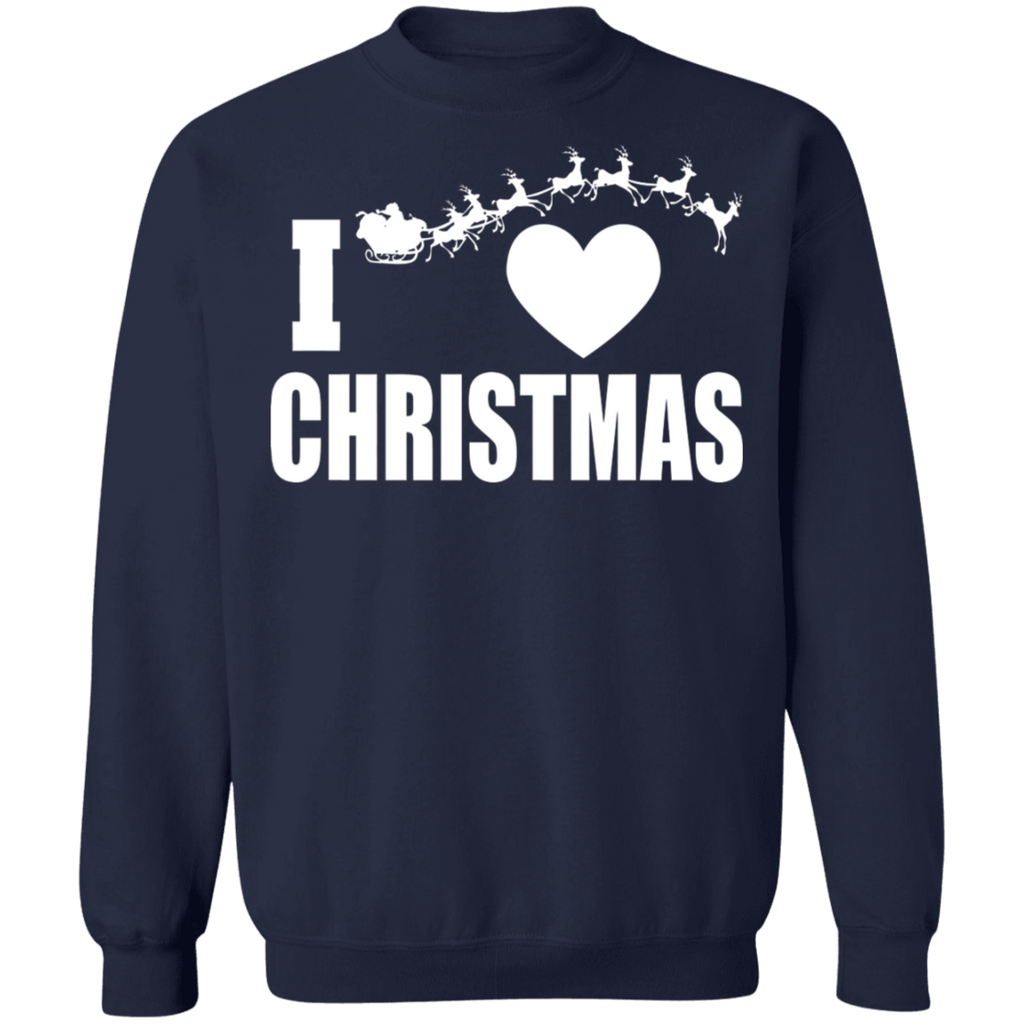 I love Christmas Ugly Sweater sweatshirt