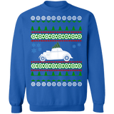 car 1933 Willy's Coupe Ugly Christmas Sweater Sweatshirt