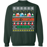 Michigan Ugly Christmas Sweater sweatshirt