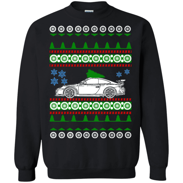 German Car 991 GT3 RS Porsche Ugly Christmas Sweater