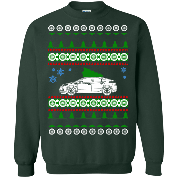 2011 Chevy Volt Ugly Christmas Sweater