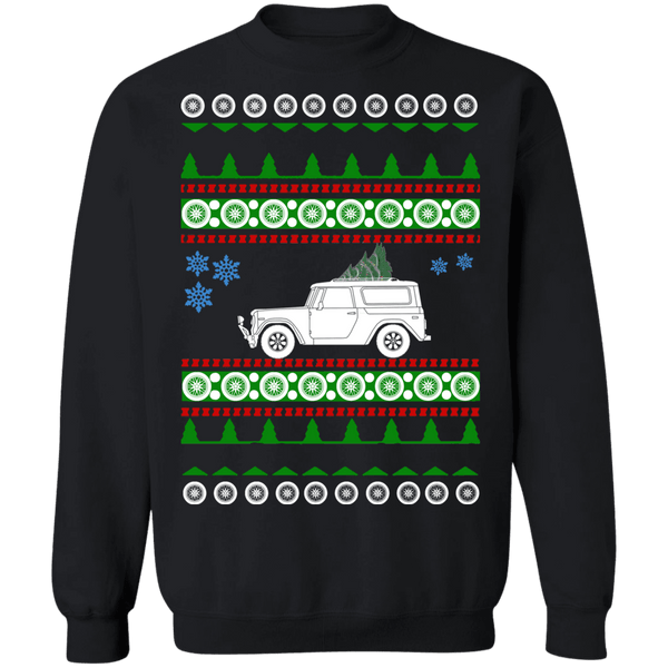 1970 International harvester scout 800 ugly christmas sweater