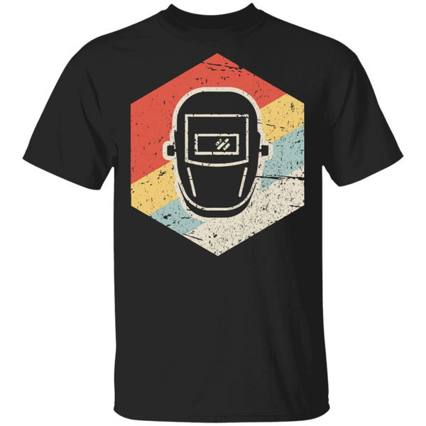 Vintage Retro Welder Icon Shirt