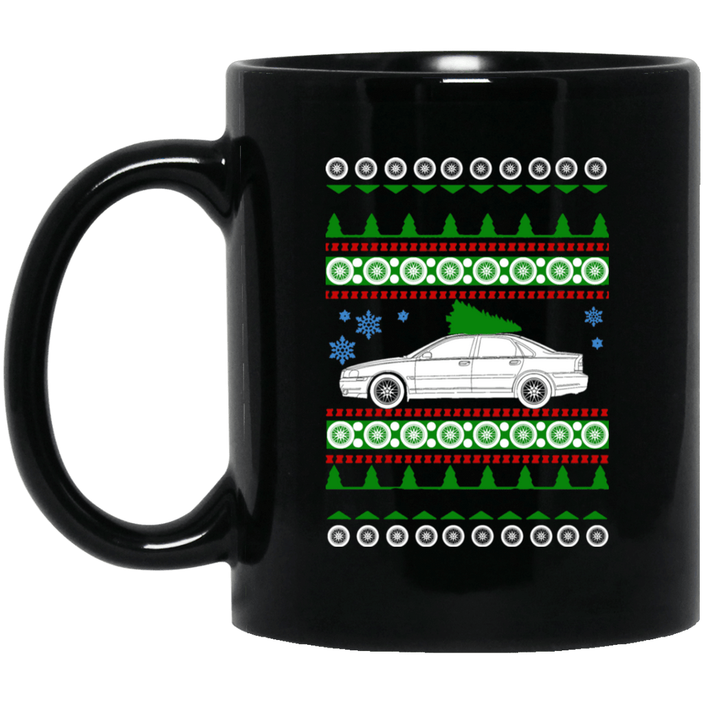 Volvo S80 Ugly Christmas Sweater Mug