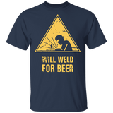 Will weld for beer t-shirt