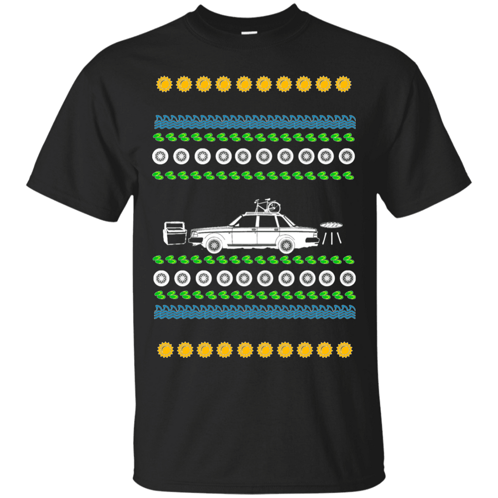 "Volvo 240 Ugly Summer ""Christmas"" T-shirt"