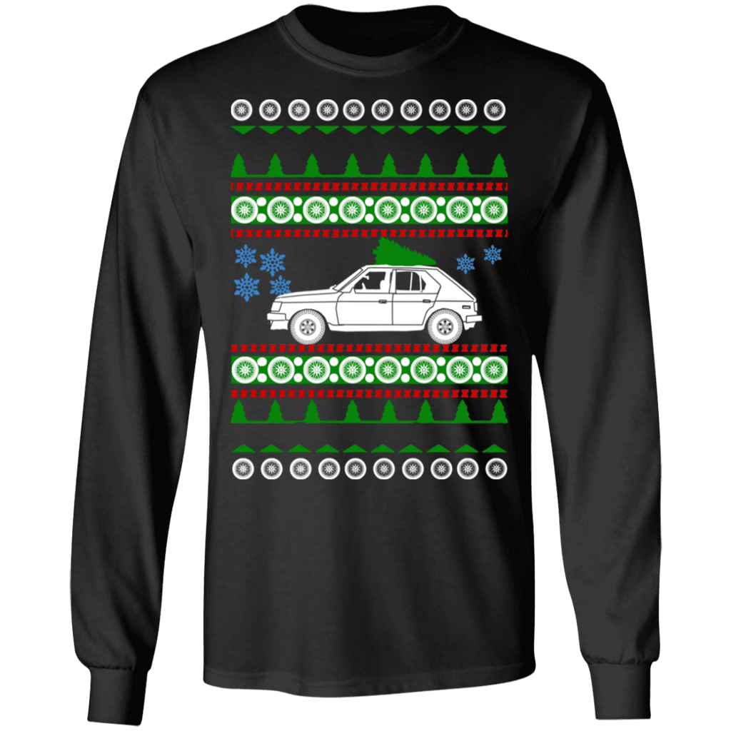Dodge Omni GLH turbo Ugly Christmas Sweater Long Sleeve t-shirt sweatshirt