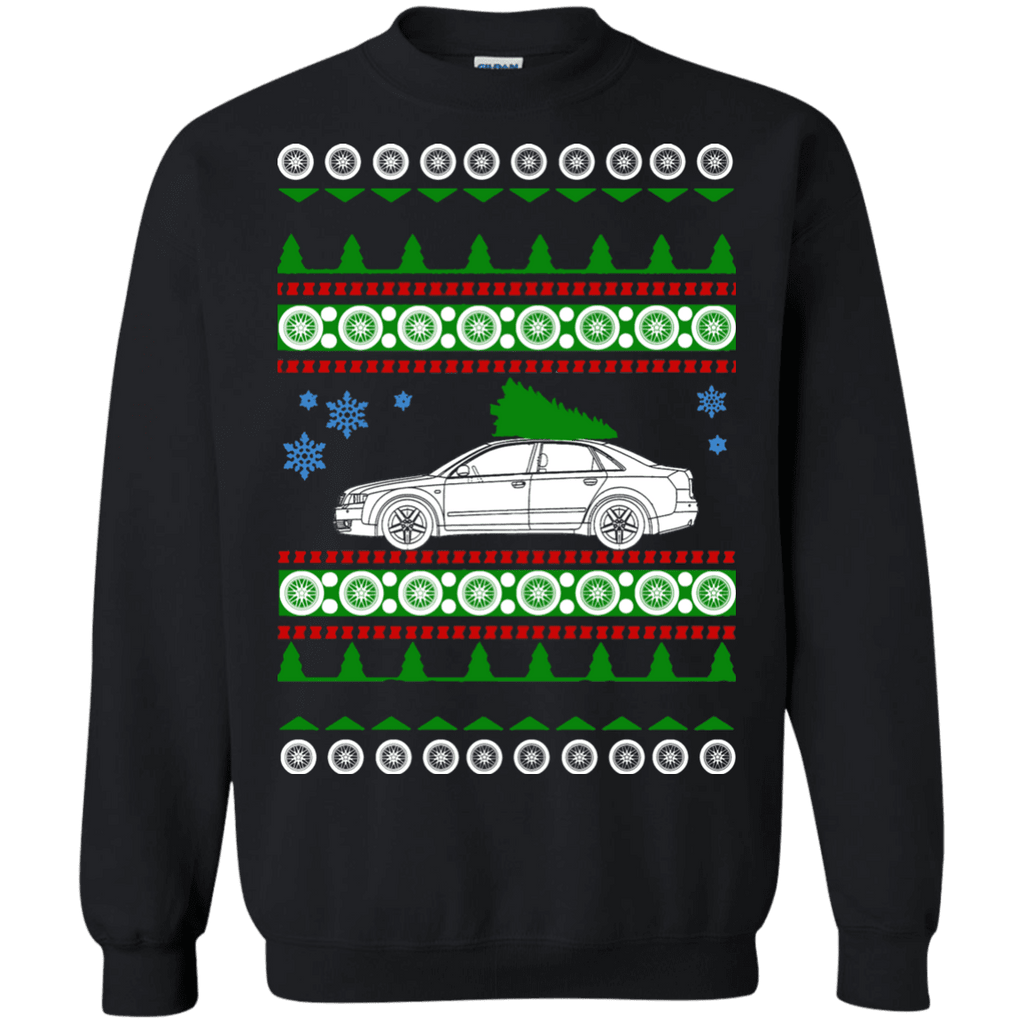 German Car Audi A4 B6 ugly christmas sweater sweatshirt