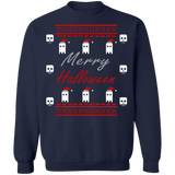 Merry Halloween Ugly Christmas Sweater sweatshirt