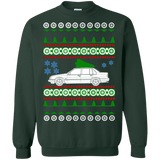 Volvo Sedan 940 Ugly Christmas Sweater sweatshirt