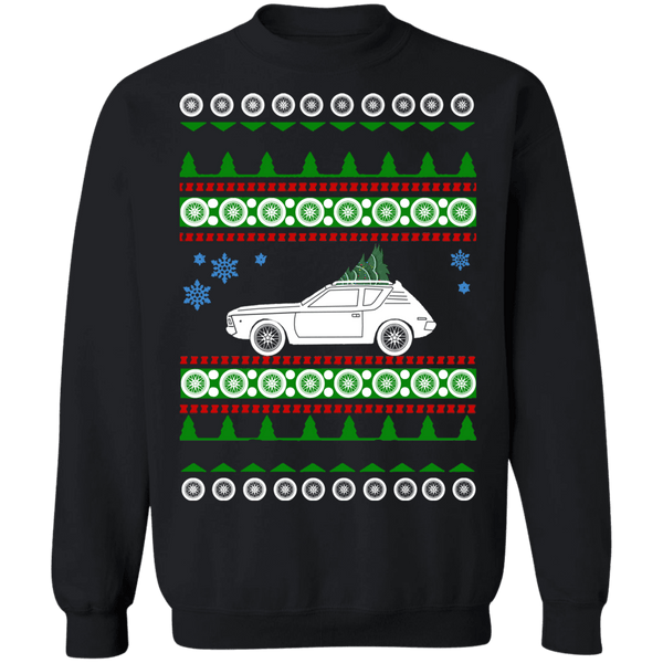 AMC Gremlin 1972 Ugly Christmas Sweater