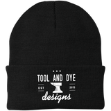 Tool and Dye Anvil Logo Knit Cap