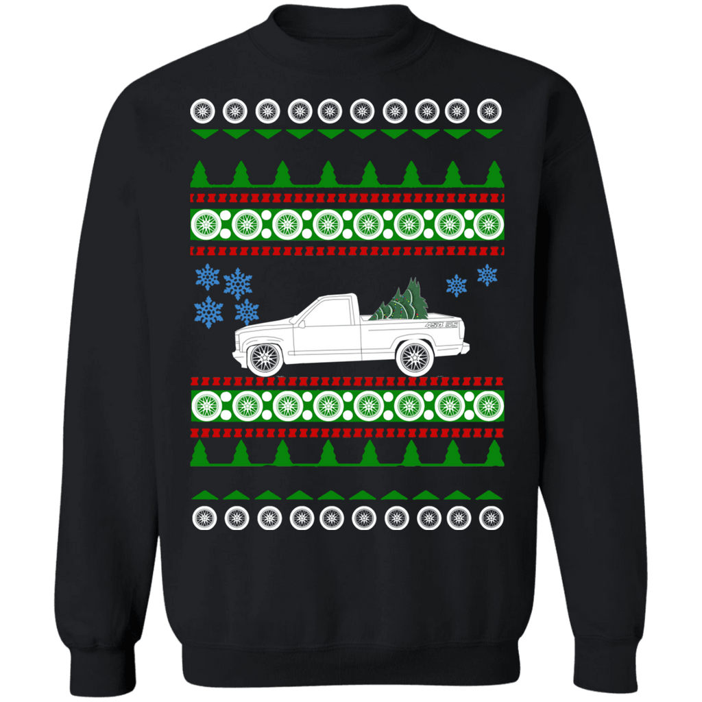 Truck Chevy Chevrolet 454 SS Ugly Christmas Sweater Sweatshirt