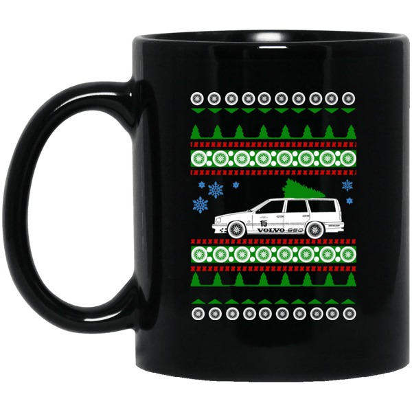 Volvo 850R Ugly Christmas Sweater Mug