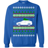 Electric Car Tesla Model X ugly christmas sweater